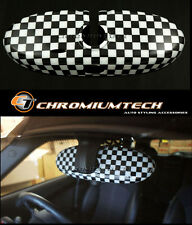 MINI Cooper/S/ONE R60 Countryman R61 Paceman Chequered Rear View MIRROR Cover