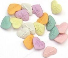 Jesse James - Dress It Up Buttons -Candy Kisses Candy Hearts ~ Sewing ~Scrap