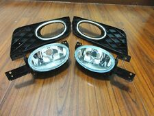 Clear Fog Lights Driving Lamps w/Covers Kits For Honda Civic 2012-2013