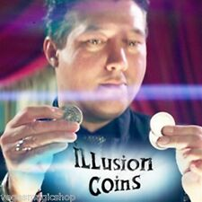 Illusion Coins - Professional Trick Coins for Amazing Close-Up or Stage Magic