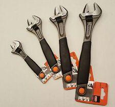 "BAHCO 4pc ERGO Adjustable Wrench Set, 6"",8"",10"",12"" #9070-9073 R US"