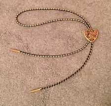 LANDSTROM'S Solid Gold Beautiful BLACK HILLS GOLD BOLO TIE. FREE PRIORITY Sh.