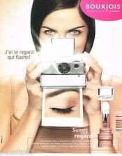 PUBLICITE ADVERTISING 085  2003  BOURJOIS   maquillage  fond de teint
