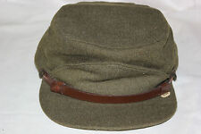 Canadian Military Winter Hat Wool Buffalo Cap Winnipeg Canada Size 7 1950 's Era