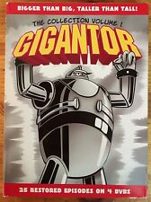 Gigantor: The Collection - Volume 1 (DVD, 2009, 4-Disc Set)