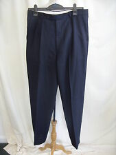 "Mens Trousers Pierre Cardin navy waist 34"" inside leg 32"" pure wool 0254"