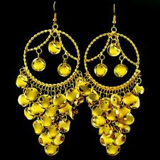 Ohrringe Ohrstecker Ohrhänger Bollywood Earrings Bauchtanz Belly Dance gold