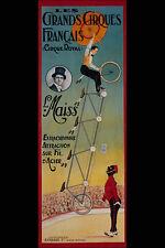 711019 Royal Circus Cycles A4 Photo Print