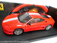 FERRARI 360 CHALLENGE STRADALE RED 1:18 by HOT WHEELS VERY RARE 1st Edition