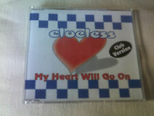 CLUELESS - MY HEART WILL GO ON - 5 MIX DANCE CD SINGLE