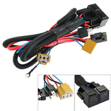 H4 9003 HB2 Auto Halogen Headlight Booster Wire Harness 40A DC Relay Conversion