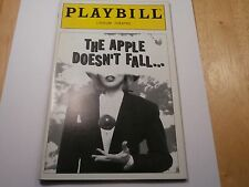 Vintage Playbill Program The Apple Doesn't  Fall..Lyceum Theatre 96  Richard Cox