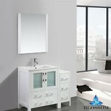 "BLOSSOM 24"" SYDNEY SINGLE SINK BATHROOM VANITY IN WHITE COLOR"