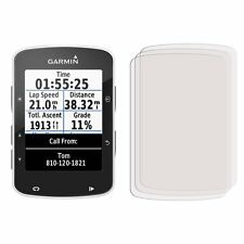 3 x New Front Clear LCD Screen Display Protector Film Foil For Garmin Edge 520