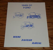 1949 1950 1951 Ford Wiring Diagram Manual 49 50 51