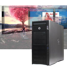 HP Z820 CAD Workstation 256GB SSD+ 2TB HDD/ 24GB RAM/ 3D Modeling/ Rendering