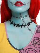 New Disney The Nightmare Before Christmas Sally Stitches Choker Cosplay Necklace