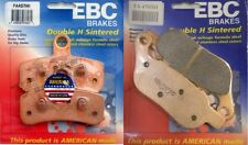 EBC Double H Front + Rear Brake Pads 2012-2014 Harley Davidson FLS Softail Slim