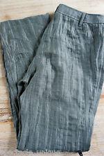 GINA LAURA * Olivgrüne Crinkle Hose * Leichtes Material * Sommerhose * Gr 38