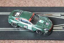 SCALEXTRIC ASTON MARTIN DBR9 GREEN #57 GOOD WORKING CONDITION