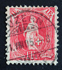 Timbre SUISSE - Stamp SWITZERLAND - Yvert et Tellier n°98 (e) obl (Cyn15)