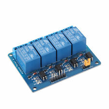 4 Channel 5V Relay Module Board Shield For PIC AVR DSP ARM MCU for Arduino QW
