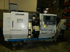 "LU-15M OKUMA ""IMPACT"" 5-AXIS TWIN-TURRET CNC TURN CENTER W/LIVE MILL - #SAM1000"