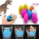6X Magie Schlüpfen Wasser Wachsende Dino Eggs Kid Toy hinzufügen