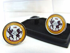 JAMES BOND 007 SECRET SERVICE DIVISION 00 BADGE MENS CUFFLINKS GIFT