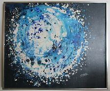 VINTAGE Abstract Oil Painting. Artist JACQUELINE STARR