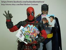 Deadpool 1/6 scale Custom Magazines and Documents - for Hot Toys Deadpool
