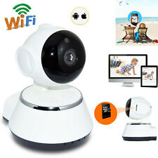 Wireless 720P 1.0MP Pan Tilt Security CCTV IP Camera IR Night Vision WiFi Webcam