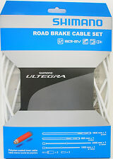 Shimano Ultegra R680 BC-R680 Road Brake Cable Set, Polymer coated, White