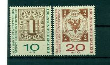 STAMP ON STAMP - WEST GERMANY BRD 1959 a