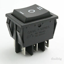 Canal R Series(Light Country R5) Rocker Switch Black up to 20 A / 250 V 10T85