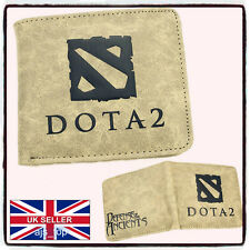 Dota 2 Leather Wallet Warcraft New Cosplay LoL *UK Stoc