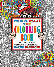 NEW Where's Wally? The Colouring Book by Martin Handford Free Shipping