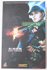 HOT TOYS BIOHAZARD RESIDENT EVIL 5 JILL VALENTINE B.S.A.A. VERSION 1/6 AUTHENTIC