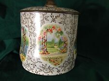 Baret Ware Container Biscuit Tin--Made in England Item #117
