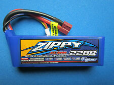 ZIPPY 2200mAh 3S 11.1 40-50C LIPO BATTERY DEANS T HELI PLANE CAR QUAD FPV EDF