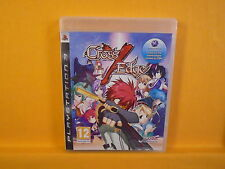 BORDE ps3 Cruz X Juego Rpg Aventura PAL version Reino Unido Inglés