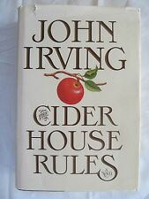 The Cider House Rules by John Irving 1985 Hardcover W/DJ