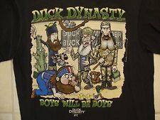 "Duck Dynasty ""Boys Will Be Boys"" Funny Redneck Reality Show Black T Shirt S"
