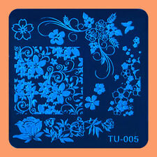 NEW Stamping Manicure Image Nail Art Image Stamp Template Tool Plate Polish T-05