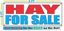 HAY FOR SALE Banner Sign NEW Larger Size Best Quality for the $$$$$