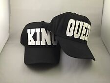 couples king and queen cap hat 5 panel black swag dope set mr mrs hubby wifey