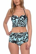 Womens Ladies 100 Wholesale Cheap Joblot Shop Market  Aztec Bikini Sets UK