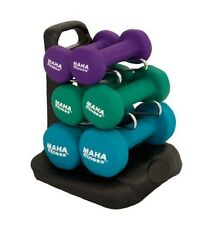 Maha Fitness Dumbell Set W/Stand-20 MF-PV20 DUMBELL NEW