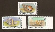 Montserrat - 1988 Shell Definitive High Values MNH