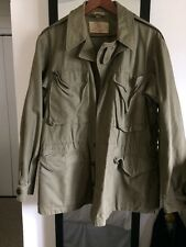 WWII M-1943 Field Jacket Size 36 R Vintage Clothing